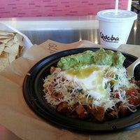 Photo taken at Qdoba Mexican Grill by Lisa F. on 4/4/2013