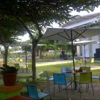 Photo taken at Taman Cafe JEC by Dion P. on 3/23/2013