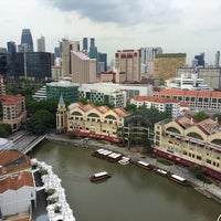 Photo taken at Novotel Singapore Clarke Quay by Graham T. on 4/24/2015