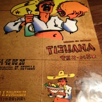 Photo taken at Tijuana Tex-Mex by Tino D. on 9/8/2013