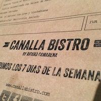 Foto tomada en Canalla Bistro por Pedro G. el 1/21/2013