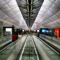 Photo taken at Hong Kong International Airport (HKG) by Stephen T. on 7/27/2013
