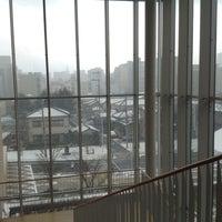 2/1/2015にみほ て.がほんぽーと 新潟市立中央図書館で撮った写真