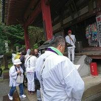 Photo taken at 七宝山 観音寺 (第69番札所) by m r. on 10/15/2017