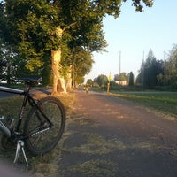Photo taken at Biciklisticka staza Pazova by Dusan L. on 7/17/2013