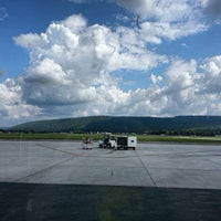 Photo taken at Elmira / Corning Regional Airport (ELM) by Christopher B. on 8/28/2013