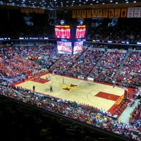Photo taken at James H. Hilton Coliseum by Christopher B. on 2/5/2013