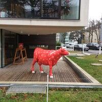 Photo taken at Das Almdudler Haus by Daniela Z. on 12/15/2014