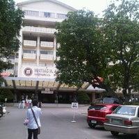 Photo taken at Southwestern University by Enimrej O. on 3/5/2013