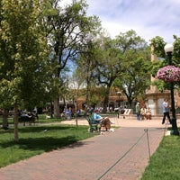 Photo taken at Santa Fe Plaza by Margaret D. on 5/18/2013