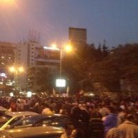 Photo taken at Masjed Mostafa Mahmoud by Muhammad M. on 11/27/2012