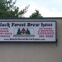 Photo taken at Black Forest Brew Haus by Joe P. on 8/17/2013