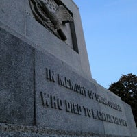 Photo taken at Hampton National Cemetery by John R. on 11/14/2012