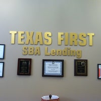 Photo taken at Texas First Bank-SBA Lending by Aaron K. on 10/19/2012