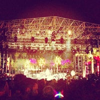 Photo taken at Coachella Outdoor Theatre by Jessica R. on 4/17/2013