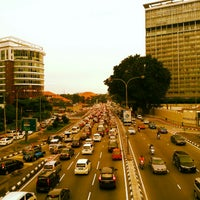 Photo taken at Jalan Tun Razak by Mathias d. on 11/20/2012