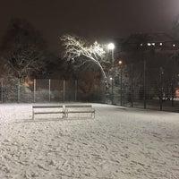Photo taken at Basketballplatz Türkenschanzpark by Anastasya L. on 12/20/2016