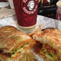 Photo taken at Earl of Sandwich by Cyril M. on 5/1/2013
