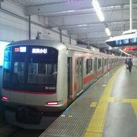 Photo taken at Tokyu Kikuna Station by Takashi I. on 12/3/2012