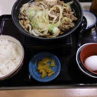 Photo taken at Sukiya by Takashi I. on 2/20/2014