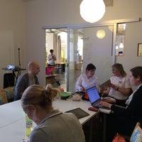 Photo taken at Hub Helsinki by Pauliina M. on 3/22/2014