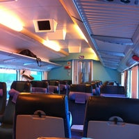 Photo taken at VR InterCity IC 175 by Pauliina M. on 2/25/2013