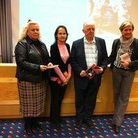 Photo taken at Mediapolis / Yle Tampere by Pauliina M. on 3/27/2013