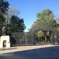Photo taken at Puerta de los Leones by Pamelieux on 2/13/2013