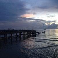 Photo taken at Hua Hin Fishing Pier by Kunyarath P. on 10/10/2015