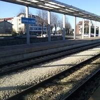 Photo taken at Stazione Di Cividale Del Friuli by Antonella C. on 3/22/2013
