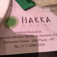 Foto tirada no(a) Hakka Sushi por Felipe I. em 4/3/2013