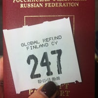 Photo taken at Tax Free Refund Office by alenadelona on 1/7/2013