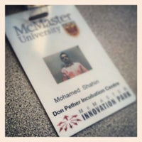 Photo taken at McMaster Innovation Park (MIP) by Mo S. on 6/21/2013