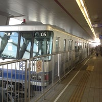 Photo taken at Osaka Monorail Dainichi Station by taku m. on 12/16/2012