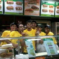 Photo taken at Subway by Claudia S. on 12/11/2012