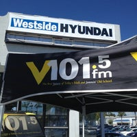 Photo taken at Westside Hyundai by Bradley T. on 4/6/2013