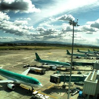 Photo taken at Dublin Airport (DUB) by JauntingJenny K. on 5/24/2013