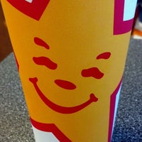 Photo taken at Hardee's by Becky C. on 4/1/2014