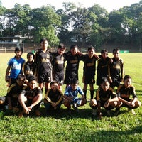 Photo taken at Marist School Football Grounds by Erlyne R. on 10/21/2012