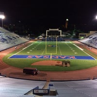 Photo taken at Memorial Stadium by Craig M. on 10/5/2013