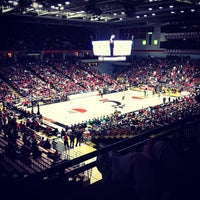 Photo taken at Fifth Third Arena | Myrl H Shoemaker Center by Alex C. on 12/22/2012