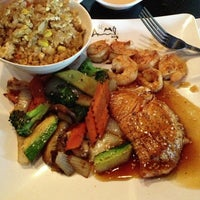 Photo taken at Aomi Japanese Steakhouse by Karm on 8/1/2013