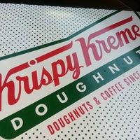 Photo taken at Krispy Kreme Doughnuts by Monica S. on 3/4/2013