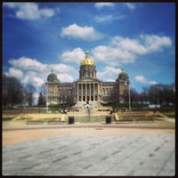 Photo taken at Iowa State Capitol Building by Andrew K. on 4/25/2013