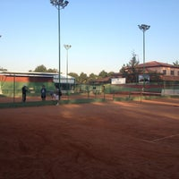 Photo taken at Totti Spin Academia De Tenis by Angelina A. on 8/28/2013