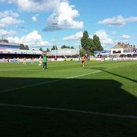 Photo taken at The London Borough of Barking & Dagenham Stadium by Craig V. on 9/7/2013
