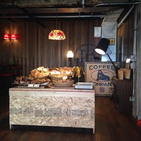 Photo taken at Fritz Coffee Company by HyeJoon K. on 8/23/2014