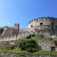 Photo taken at Castel Beseno by Alex V. on 8/31/2013
