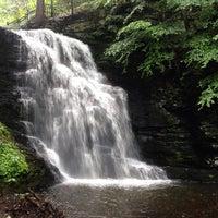 Photo taken at Bushkill Falls by Nora L. on 7/28/2013