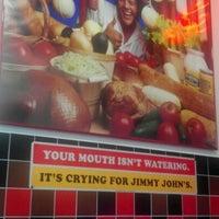 Photo taken at Jimmy John's by Rodney H. on 9/24/2012